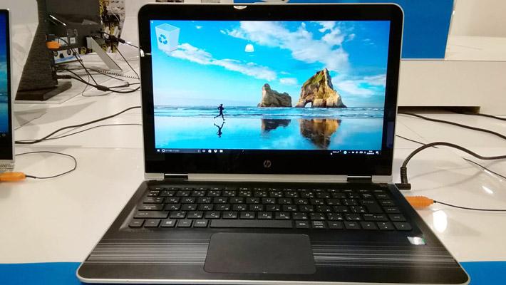 HPのノートパソコン(Pavilion x360 13インチ)