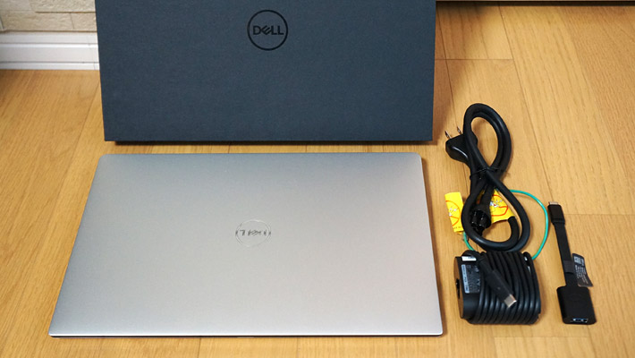 「NEW XPS 13(9370)」の同梱物