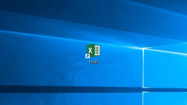すると、エクセルのアイコンがデスクトップにコピーされ、ショートカットが作成されました。このアイコンをダブルクリックすることで、エクセルが開くようになります。