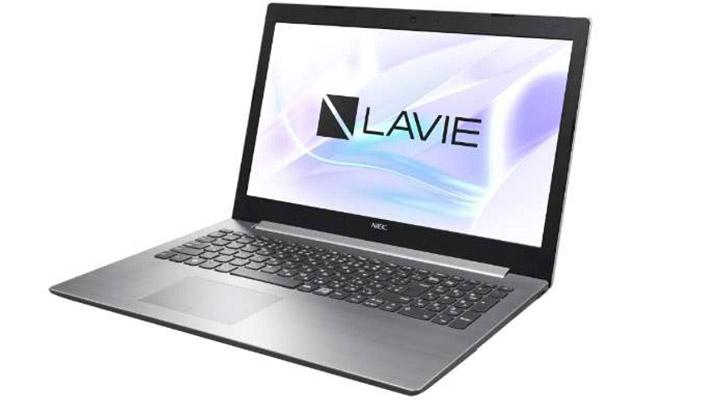 今回「令和記念セット」で販売されるNECのノートパソコンは、2018年夏モデルの「PC-NS10EK2S」で本体カラーはシルバーになります。パソコンのスペックはこちら。