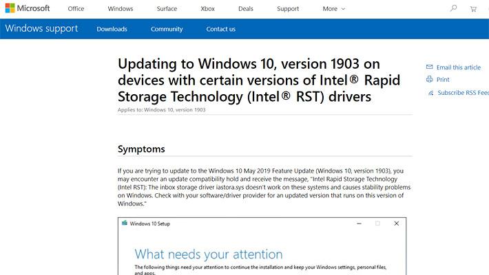 「詳細についてはここをクリックしてください」で開くページは、以下のマイクロソフトの英語版のページです。パソコンに慣れていないユーザーが、このようなページが開いたら、余計に訳が分からなくなってしまいますよね