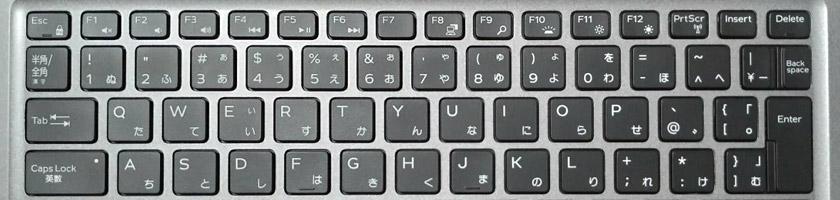 DELLのノートパソコンでファンクションキーが使えない時の対処法